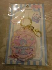Sanrio Tuxedo Sam Acrylic Keychain Clip Pink