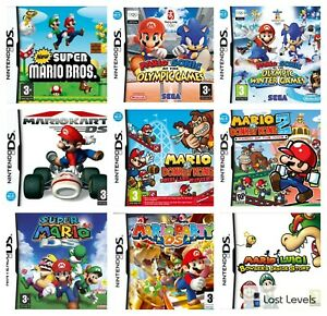 Ds   Mario   Mario & Sonic   Bowser   Olympic   Choose Your Game Multi-Listing