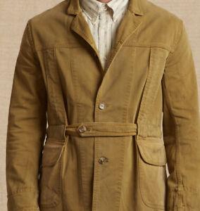 Levi Strauss Make 1920s Norfolk Coat, LVC, Khaki, small, Made In USA, £305 Rrp