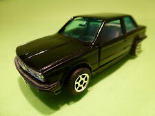 MADE IN HONG KONG BMW 3 SERIE E30  - BLACK 1:42 - VERY GOOD - PULL BACK