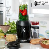 TURBO ONE TOUCH MONSTER BULLET MIXER AUS GLAS STANDMIXER 2 Behälter