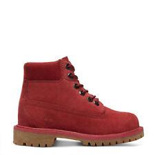 Timberland Boots Ladies 6 Inch Premium Waterproof Pomegranate UK 3.5 New Boxed