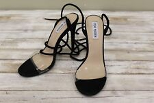 Steve Madden Lyla Lace Up Stiletto Heels, Women's - Size 8 M, Black