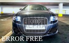 AUDI A3 S3 A4 A6 LED XENON WHITE SIDELIGHT BULBS UPGRADE CANBUS ERROR FREE