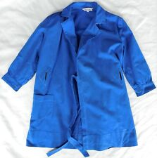 Vintage childrens science overall 1960s TRUTEX school uniform lab coat ALTERED
