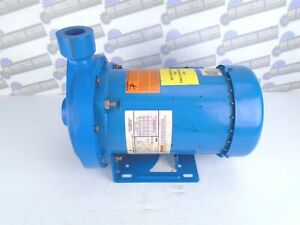 GOULDS HCC Centrifugal Pump 1MC1E5C0 with EMERSON P63FWD-4362 Motor, 1 hp 3 Ph