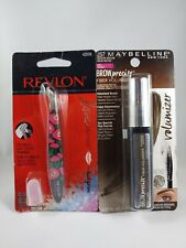 Revlon Love Collection Cuticle Nipper & Maybelline Brow precise fiber volumizer