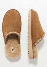 Authentic UGG brand Men's Tasman Slip-On Shoes Slippers 1103900 Chestnut Black