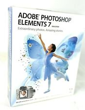 New Adobe Photoshop Elements 7 Education for XP/Vista Sealed
