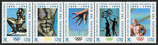 Vatican 1011 strip/5, MNH. Modern Olympic Games, cent. 1996