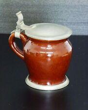 Keramik Bierkrug Wiedamann Regensburg beerstein ceramic Art Deco