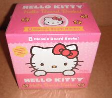 Hello Kitty 8 Classic Board Books Box Set