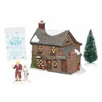 Department 56 Dickens A Christmas Carol Scrooge's Boyhood Home Lit Building,