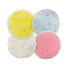 Reusable Bamboo Cotton Make Up Remover Pads Deep Cleaning Face Wipes 12 Pieces