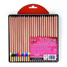 Koh-I-Noor Tritone 24 Pencil Set