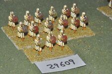 25mm medieval / saracen - javelinmen 15 figures - inf (29609)