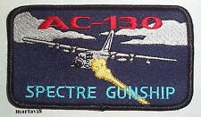 US.Air Force Hercules `AC-130 SPECTRE GUNSHIP` Cloth Patch / Badge (H3)