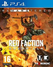 Red Faction Guerilla Re-Mars-tered (PS4)  BRAND NEW AND SEALED - QUICK DISPATCH