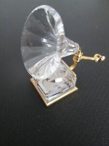 Swarovski Auflösung Swarovski Figur Crystal memories Grammophon