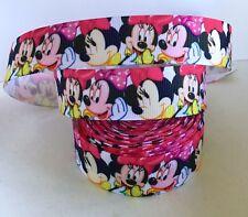 Yard Disney Minnie Mouse arcos Chicas Personaje Cinta del Grosgrain #40