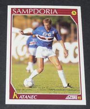 228 KATANEC SAMPDORIA FOOTBALL CARD 92 1991-1992 CALCIO ITALIA SERIE A