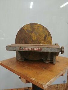 """Vintage Delta Rockwell Homecraft Disc Sander 8.5"""" Multi-Speed Disk HDS 101 120"""