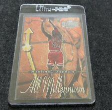 1997-98 Michael Jordan Metal Universe All Millennium Basketball Card