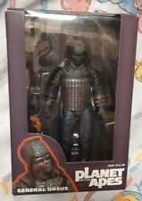 """2014 NECA Planet of the Apes General Ursus 7"""" Inch Figure is MINT"""