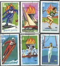 Togo 1380A-1385A (kompl.Ausg.) gestempelt 1979 Olympische Spiele 1980