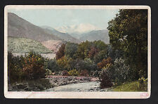c1907 view of Pikes Peak from near Colorado City landscape postcard