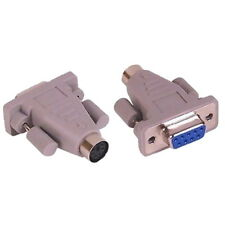 PS2 PS/2 to 9 Pin Serial DB9 Mouse Gender Changer Adaptor