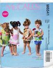 MCCALL'S SEWING PATTERN 6541 BABY/TODDLERS SZ NB-XL A-LINE DRESSES, TOP & SHORTS