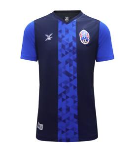 100% Authentic Original Cambodia National Football Soccer Team Jersey Shirt Blue