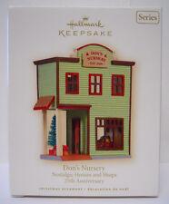 2008 Hallmark Keepsake Ornament Nostalgic Houses and Shops Don's Nursery-QX7101