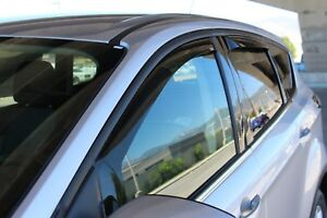 In-Channel Wind Deflectors: 2004-2007 Ford Freestyle