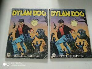 Dylan Dog N.1 originale prima edizione due copie (Leggi)