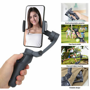 3Axis Mobile Phone Handheld Stabilizer Video Shooting Selfie Stick with Tripod