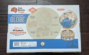 NEW Puzzlegears Working Globe Fat Brain Toys 567 Pieces DIY Fun 14+