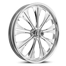 "DNA ""ENVY"" CHROME FORGED BILLET WHEEL 18"" X 3.5"" REAR HARLEY TOURING"
