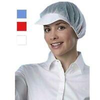 1000 X PEAK-ED BOUFFANT MEDI-CAL HYGIENE CATERING PROTECTIVE SCRUB HAIR-NET CAP