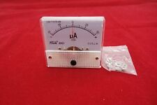 DC Minus Zero Plus -50uA-+50uA Analog 85C1 Analogue Ammeter AMP Panel meter