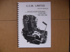 CCM/ROTAX  604 WORKSHOP MANUAL