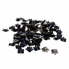 100pcs Claw nails punk Rivets Studs square bronze pyramid J3M8