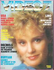 ▬►VIDEO 7 N°20 (1983) MERYL STREEP_PAUL MICHAEL GLASER_JESSICA LANGE_A.WAJDA