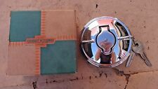 NOS 1953 1955 Chevy LOCKING GAS TANK CAP w/ KEYS Original GM Accessory bel air