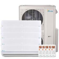 48000 BTU Five Zone Ductless Mini Split Air Conditioner and Heat Pump 22 SEER