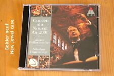 Concert Nouvel an 2001 - Harnoncourt - Wiener Philharmoniker - 2 CD Teldec
