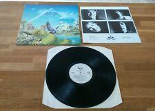 Asia Alpha UK LP With Insert A6 B5 Geffen GEF25508 Classic Prog Rock