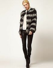 ASOS Hip Length Faux Fur Coats & Jackets for Women