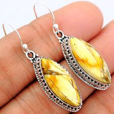 Brecciated Mookaite 925 Sterling Silver Earrings Jewelry BRME131
